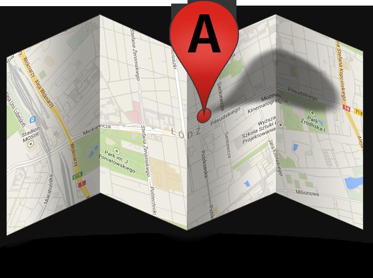 firma na mapie google