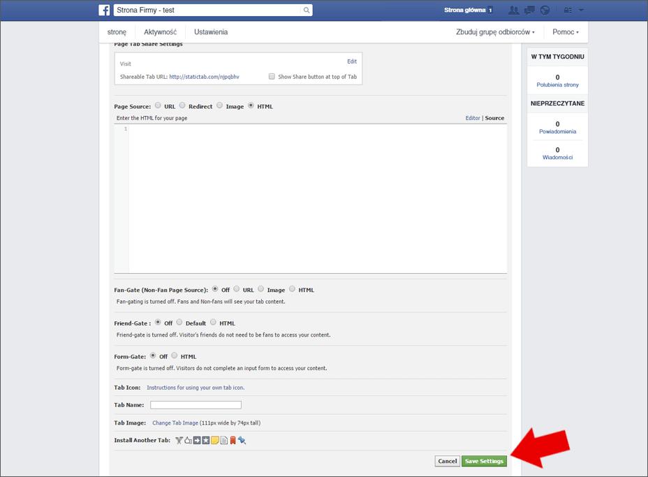 Wirtualny spacer Google na Facebooku - poradnik - krok 4