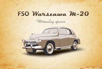 Wirtualne Spacery Warszawa