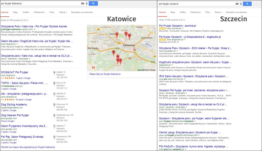 Katowice, Szczecin - Psi fryzjer