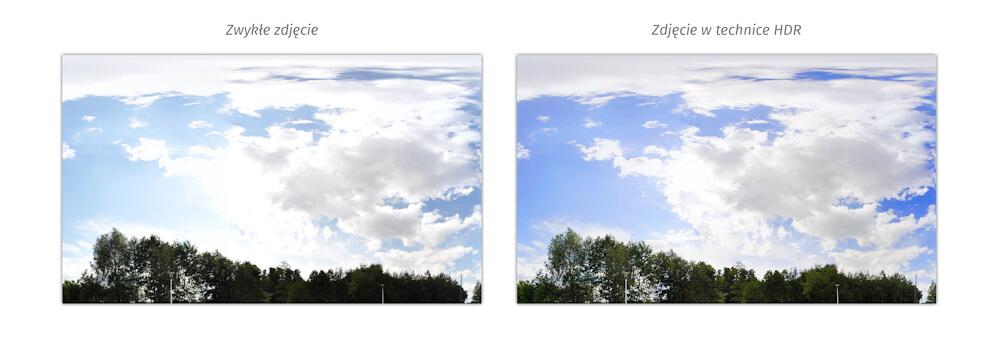 Zwykłe zdjęcie vs. zdjęcie HDR