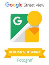 Rekomendowany Fotograf Google - plakietka