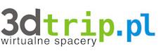 Logo firmy 3dtrip wirtualne spacery