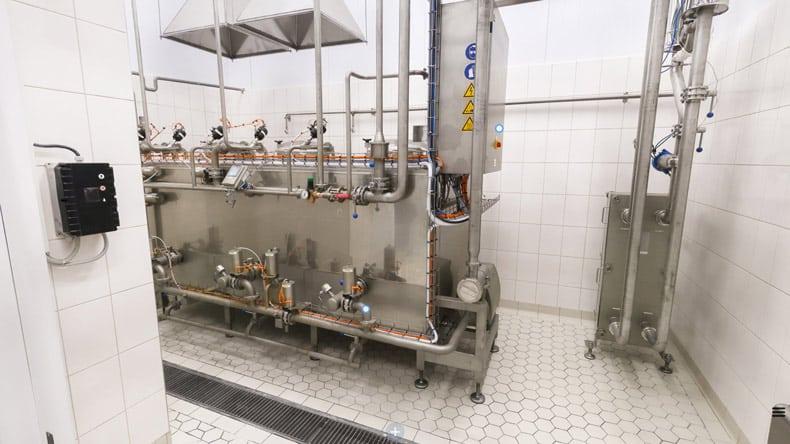 Widok 360 nawnętrze fabryki