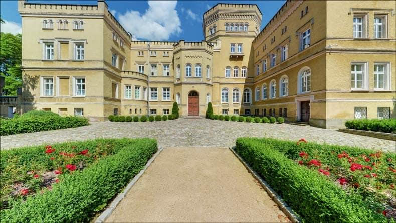 Zdjęcie Pałacu Narzymskich wJabłonowie Pomorskim