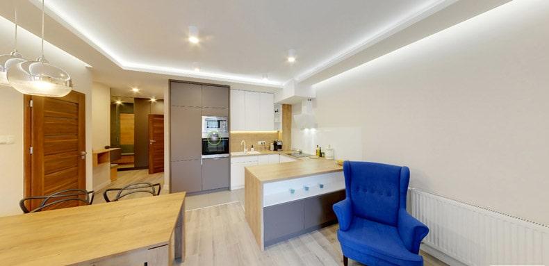 Wirtualny spacer pomieszkaniu